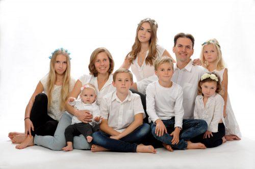 családi fotózás műteremben 26