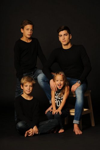 családi fotózás műteremben 3