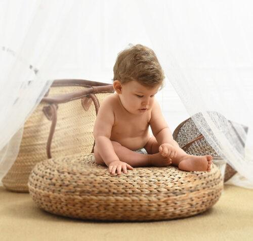 gyerek foto kisfiu studioban
