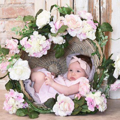 csecsemő fotózás