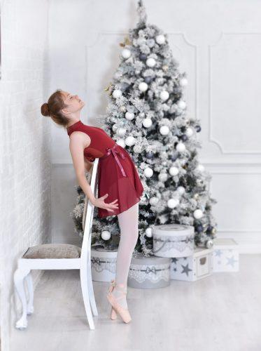 karacsonyi gyermek foto balett hangulat
