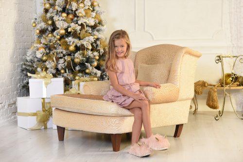karacsonyi gyermek foto elegancia stilus